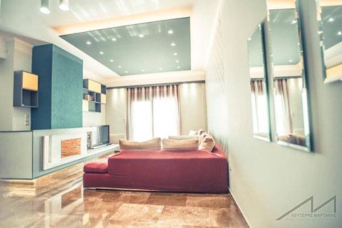 interior design, living room, lightning