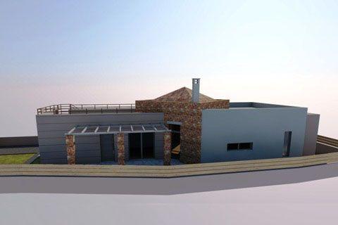 νέα κατοικία, ισόγειο, Θυμιανά, Χίος, ecohouse
