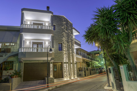 exterior lighting, building, lefteris martakis, architecture, house, home